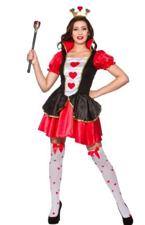 Queen of Hearts Plus Size Costume (EF2219)